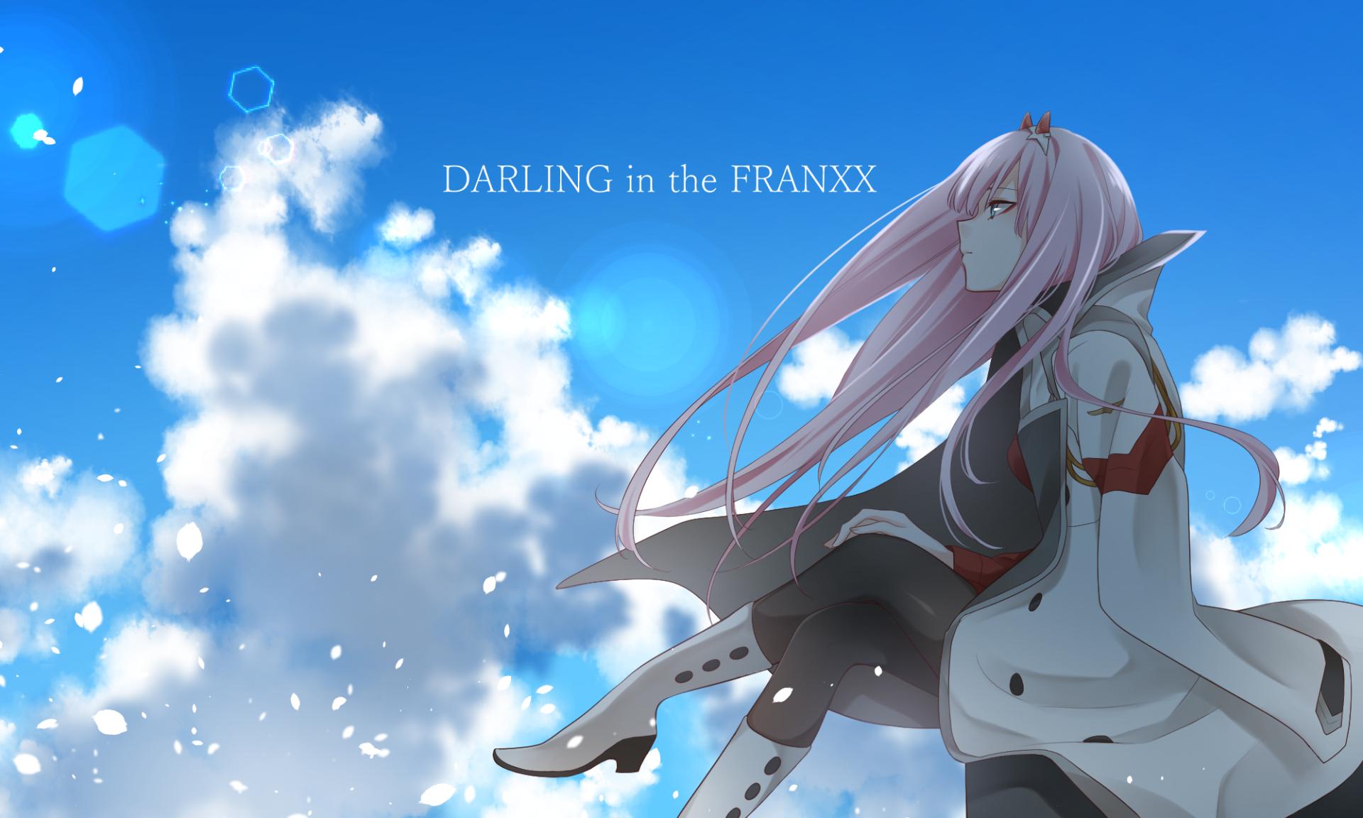 Anime Darling In The Franxx Zero Two Darling In The Franxx