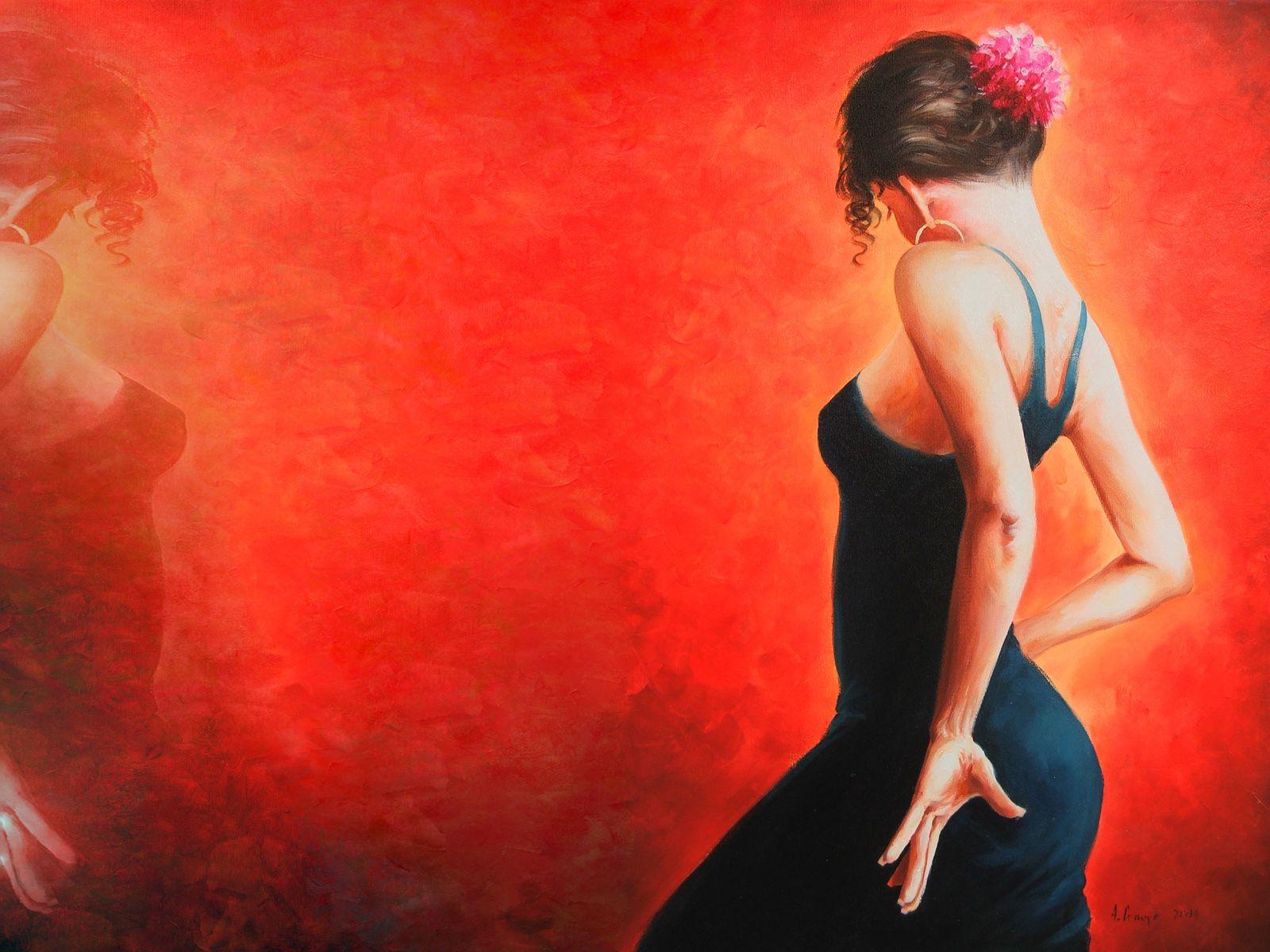 flamenco spain dancer woman by lord iluvatar women