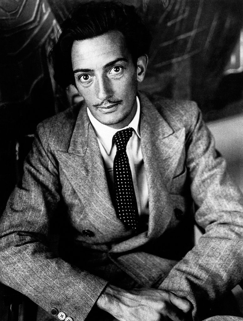 Salvador Dali, 1933. Photo: Brassai.