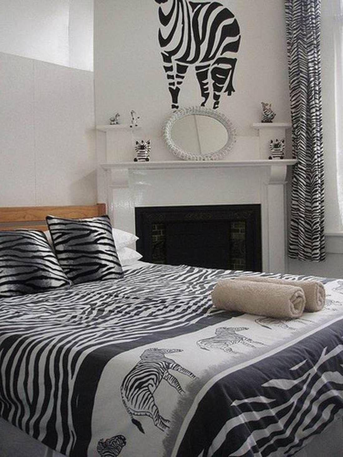 Zebra Print Bedroom Ideas Decoration Interior And Exterior House ...