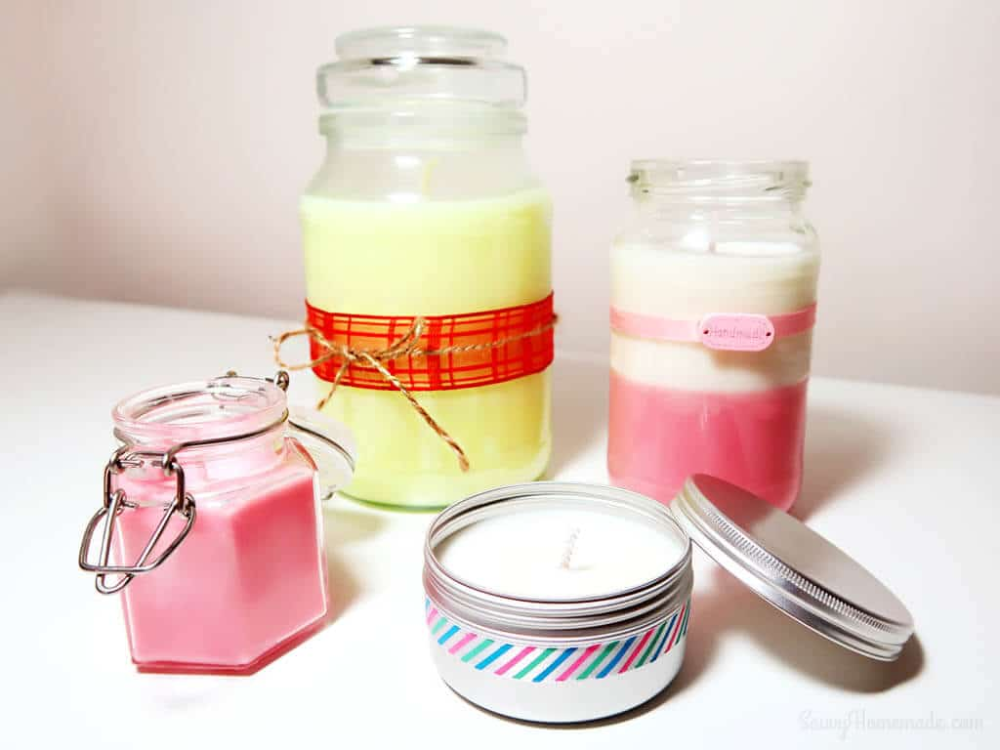 How To Make Soy Candles Look Amazing Savvy Homemade in