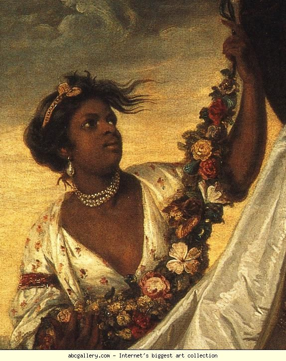 Photo of People of Color in European Art History