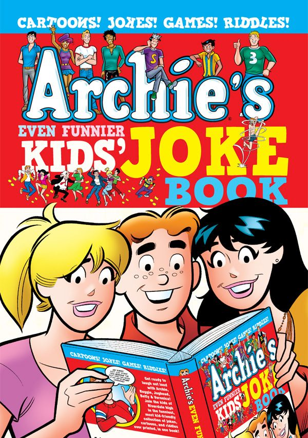 Archies Even Funnier Kids Joke Book Preview via School