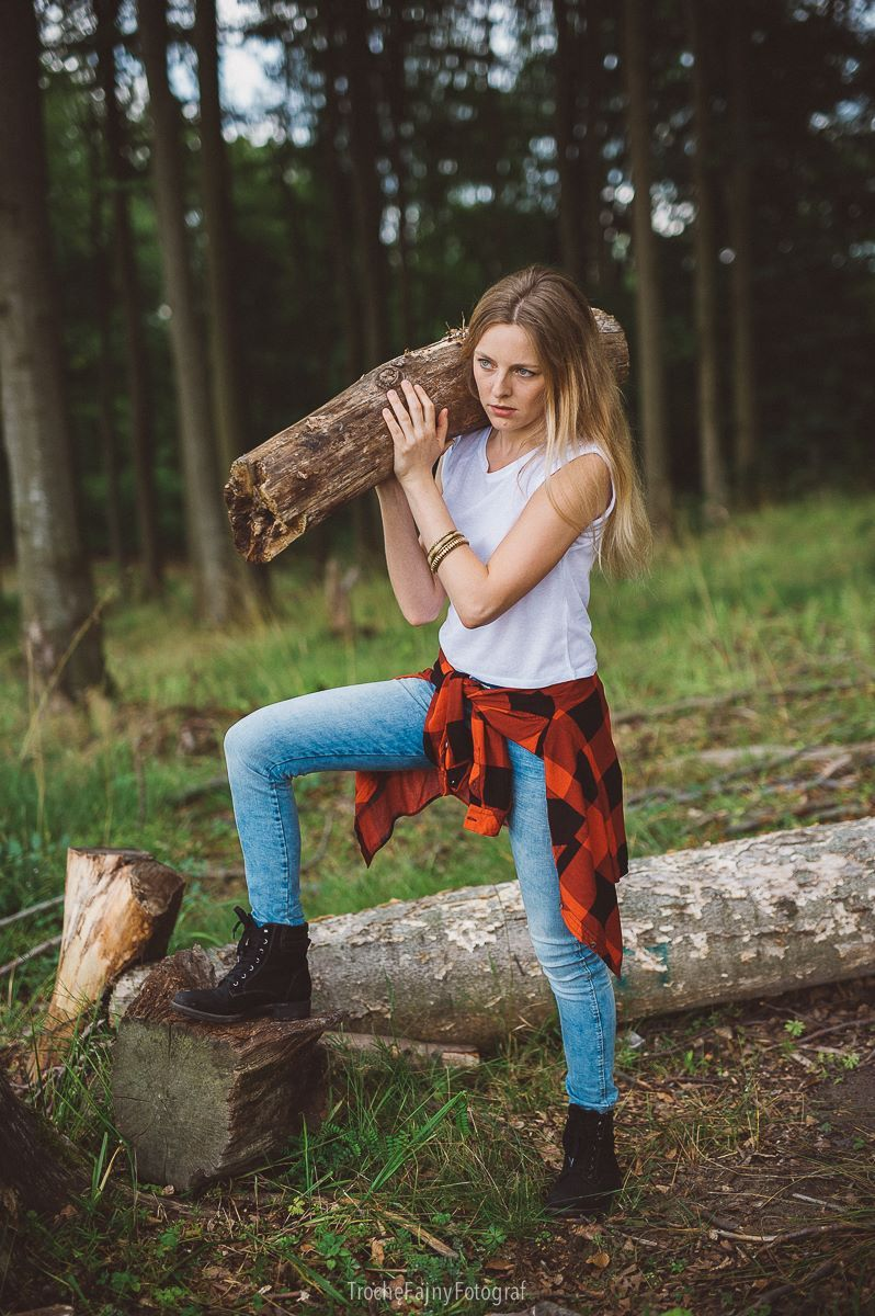 Girlfriend Of Lumberjack  Lumberjack Lumberman  -6041