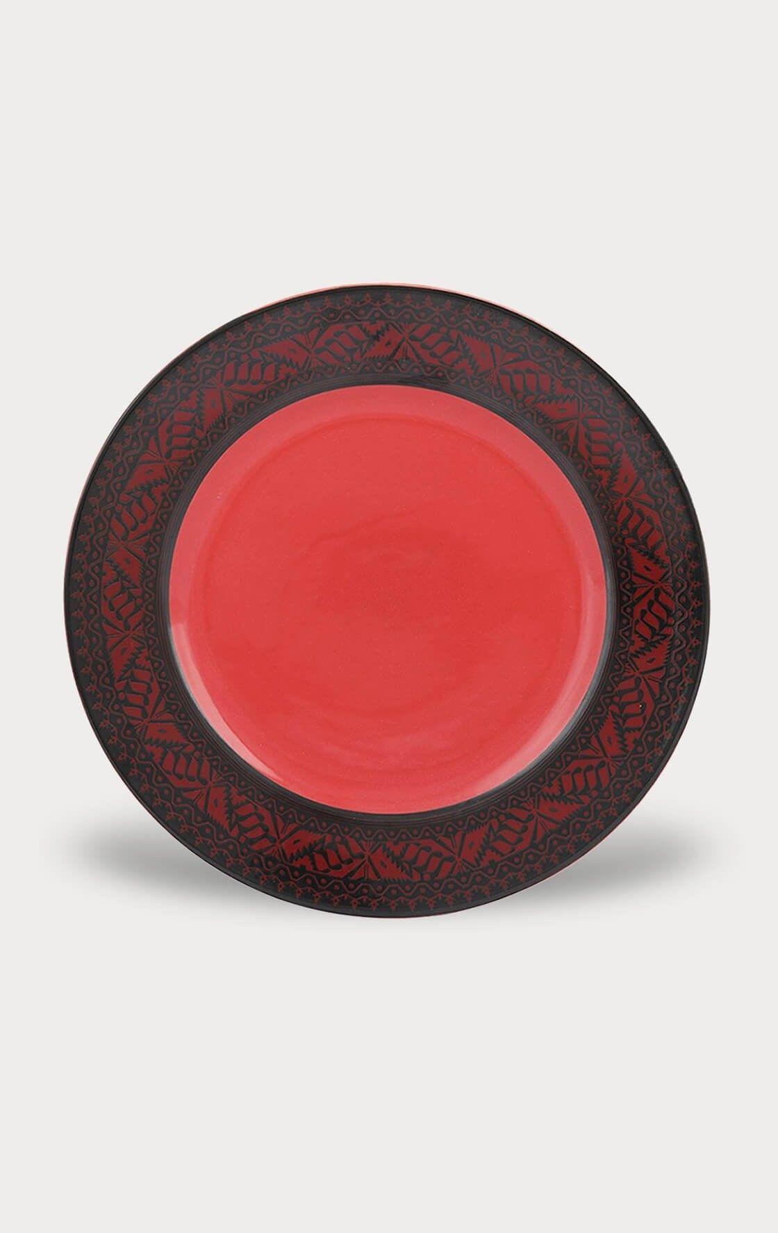 Jamdani Design Pattern Plate Ceramic Aarong Heritage Dhakabangladesh Only In Bangladesh Decorative Plates Dhaka Bangladesh Ceramics