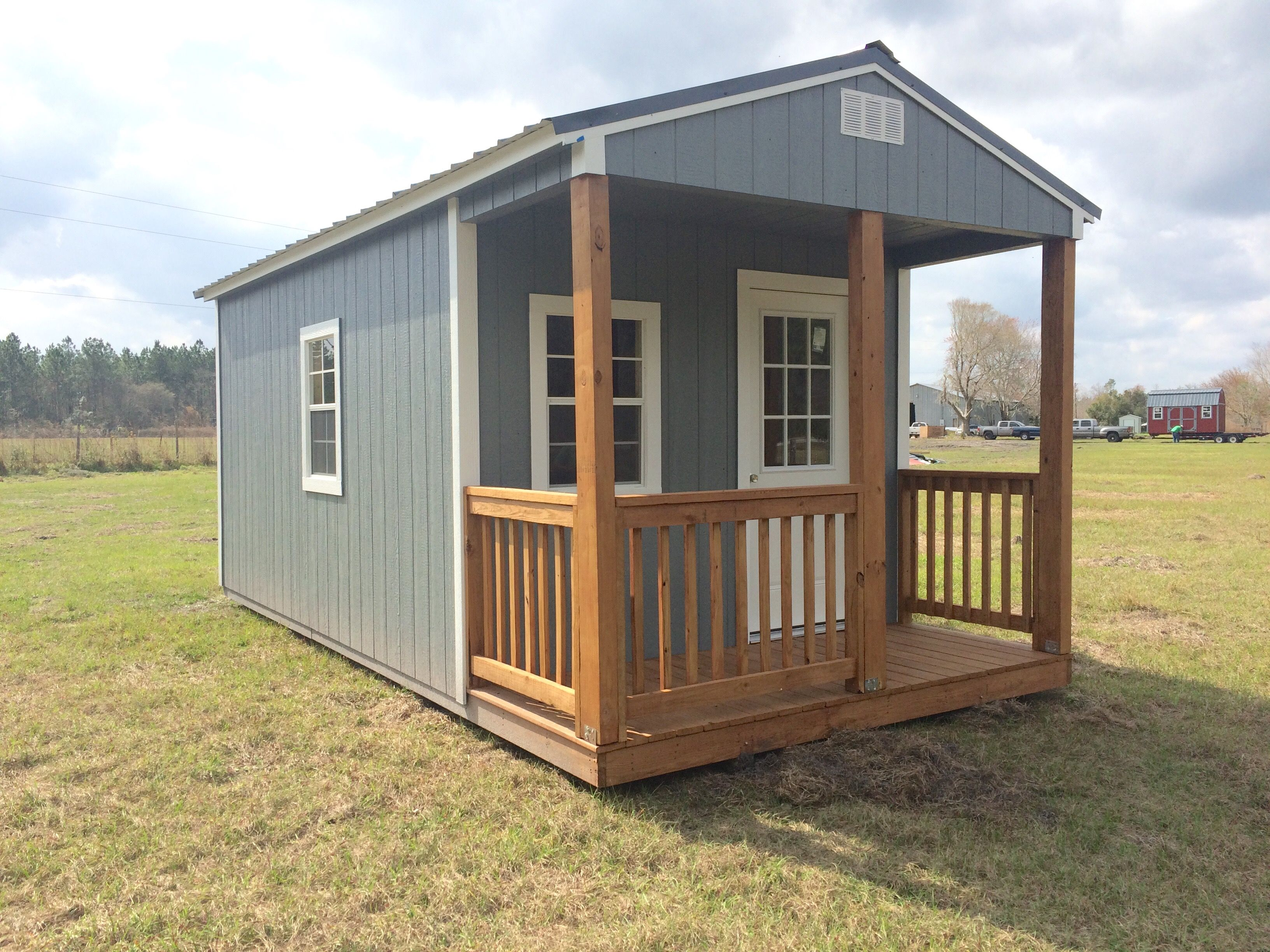 Coastal Portable Buildings Standard Cabin 10x20 Coastalportablebuildings Cabinlife Cabin Storagesolutions Outdoorl Portable Buildings Cabin Life Building