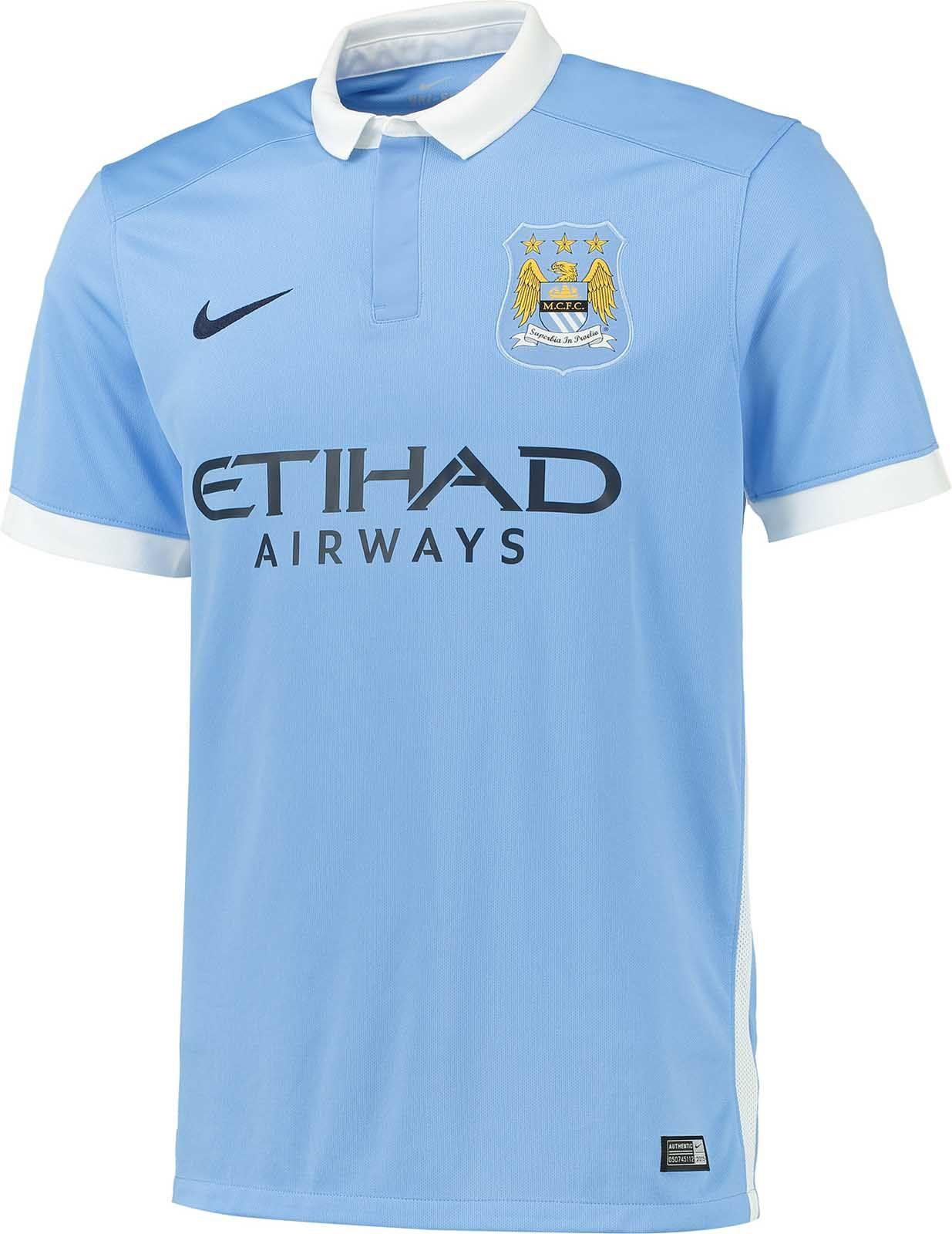 98c4ff2de98 Manchester City 15-16 Home Kit Released | Football (soccer ...