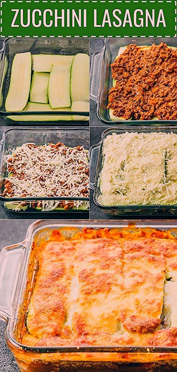 Photo of Diese einfache Zucchini-Lasagne ist eine großartige kohlenhydratarme und …