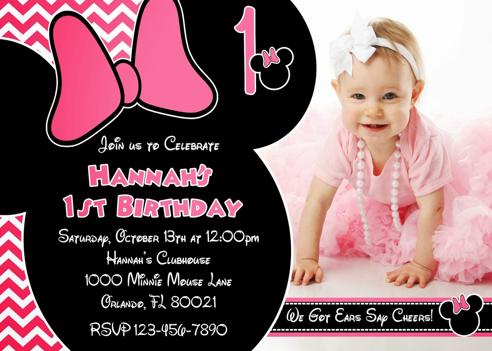 One Year Old Birthday Party Invitations My Birthday – Party City Birthday Invitations