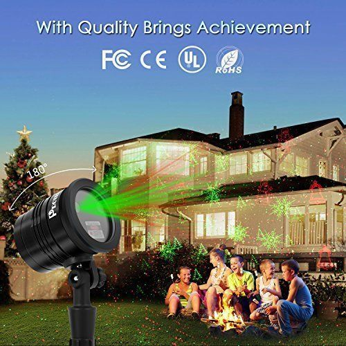 Christmas Projector Laser Lights Decor Wireless Outdoor Waterproof Party Garden Christmasprojectorlaserlig Christmas Projector Laser Lights Light Decorations
