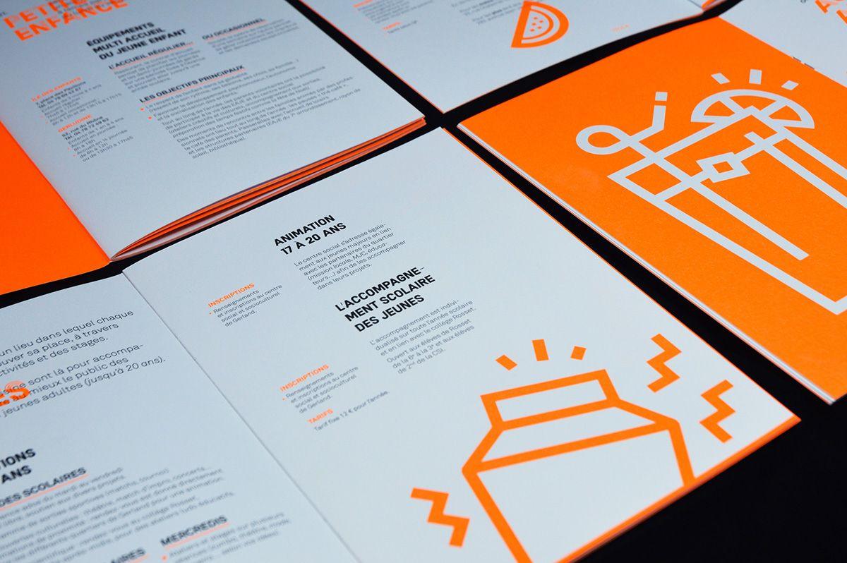 Csg Plaquette 16 17 Book Design Layout Brochure Design Layout Booklet Design