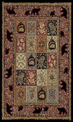 All Your Rustic Area Rugs Cabin Accent And Bear At 9 Design Source For Moose