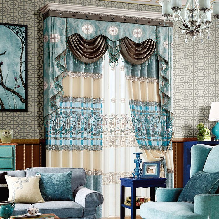 Thick Curtains Jacquard House Curtains Curtains Thick Curtains