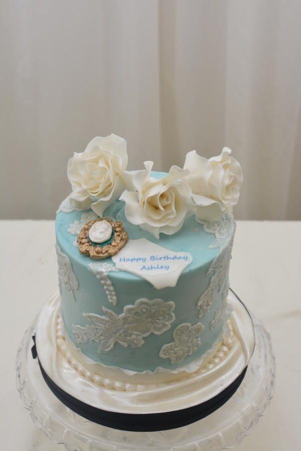 Vintage Birthday Cake Cameo Cakes Pinterest Vintage Birthday