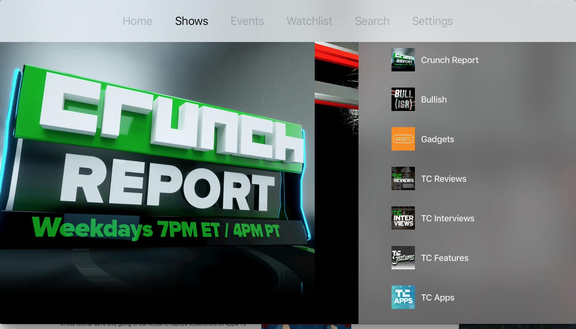 Pin on Apple TV (tvOS) UI/UX & App Icon Designs