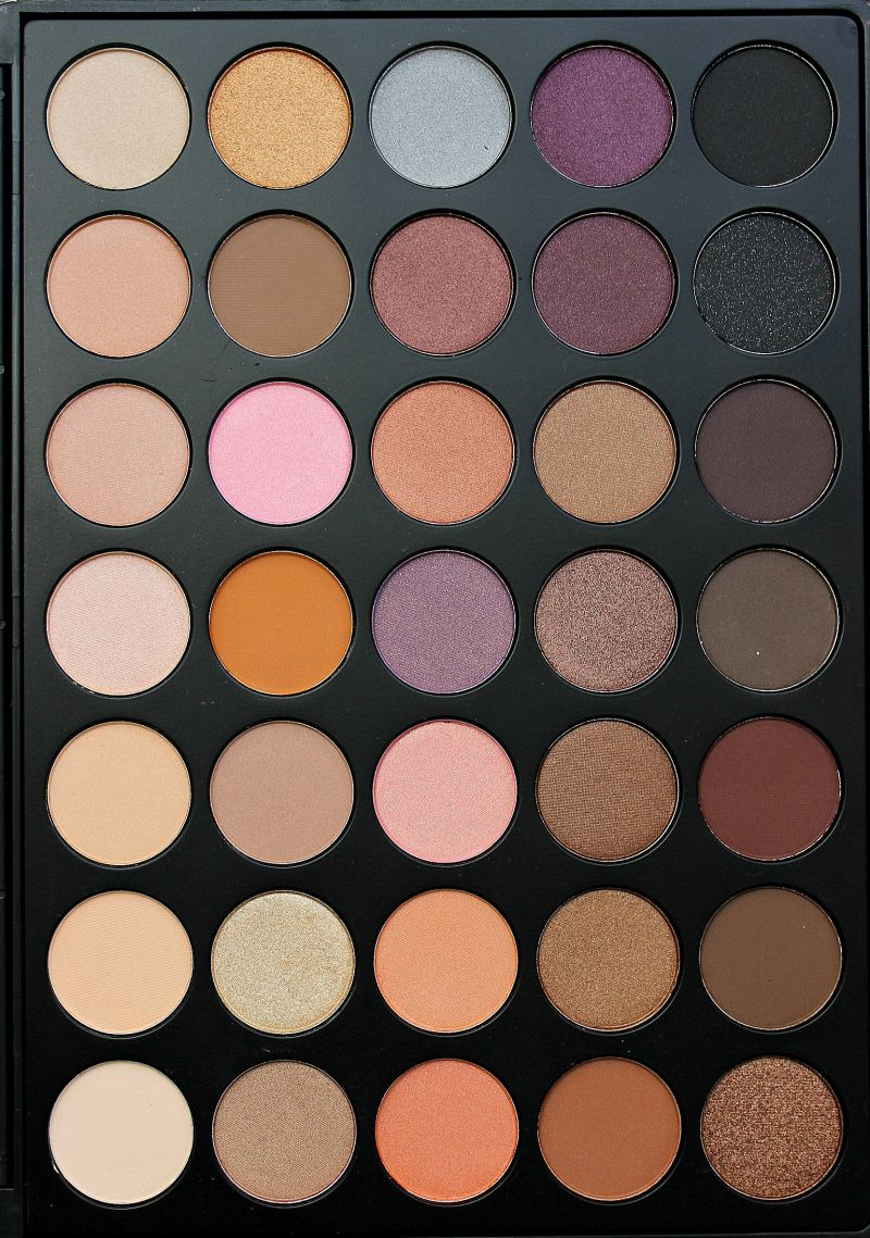 Simply Selma Morphe Brushes 35W 35 Color Warm Palette