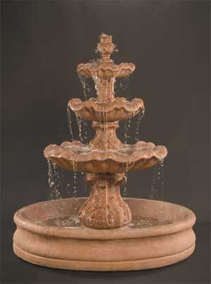 Italian 3 Tier Fountain With 55