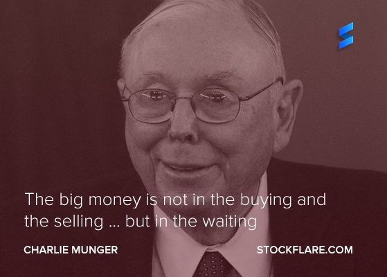 Quote From Charlie Munger The Big Money Is Not In The