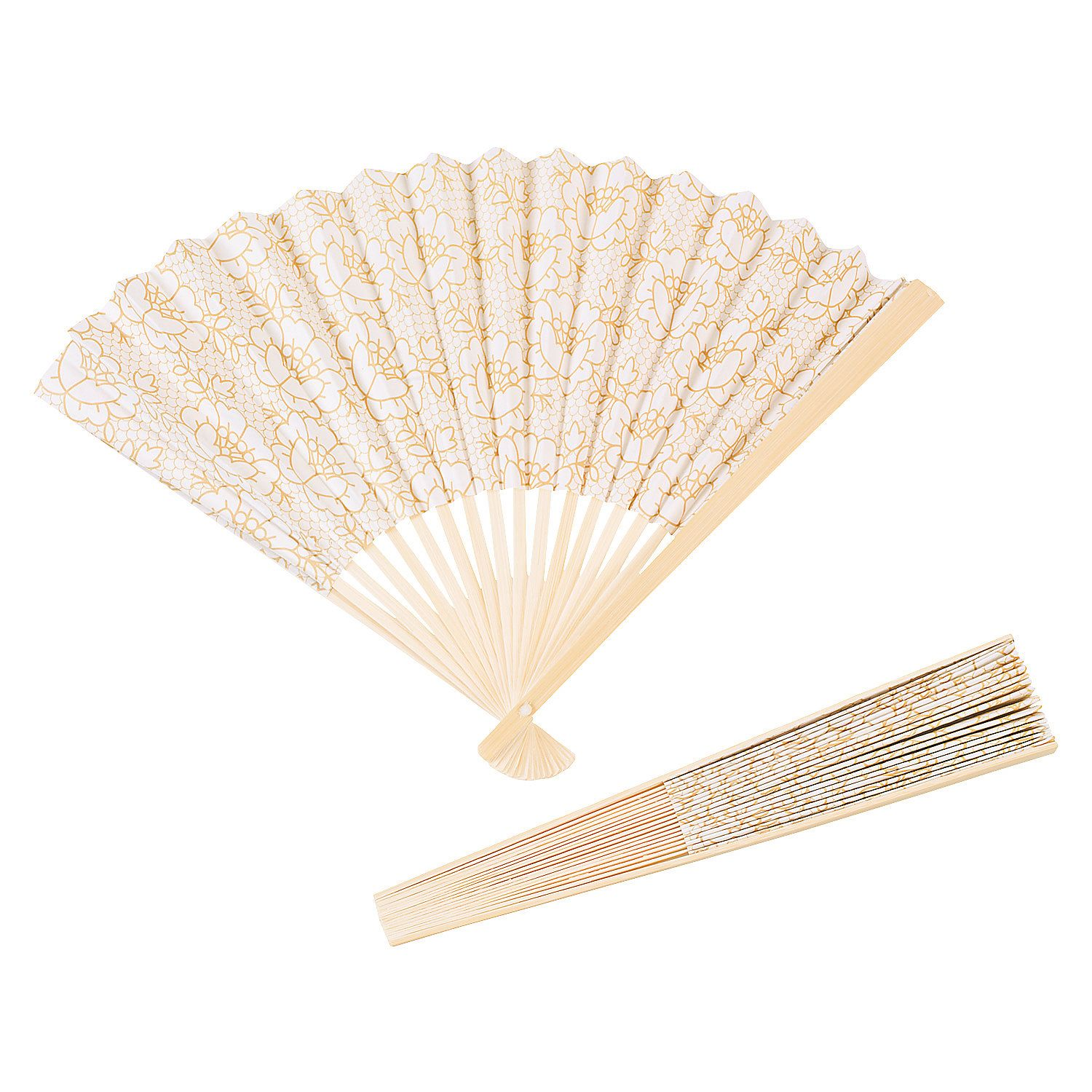 Vintage Lace Folding Fans | Shabby, Fans and Wedding