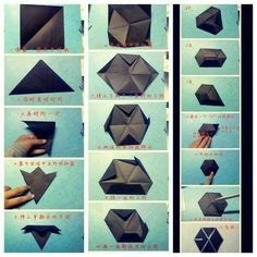how to make symbol exo from origami | via: facebook