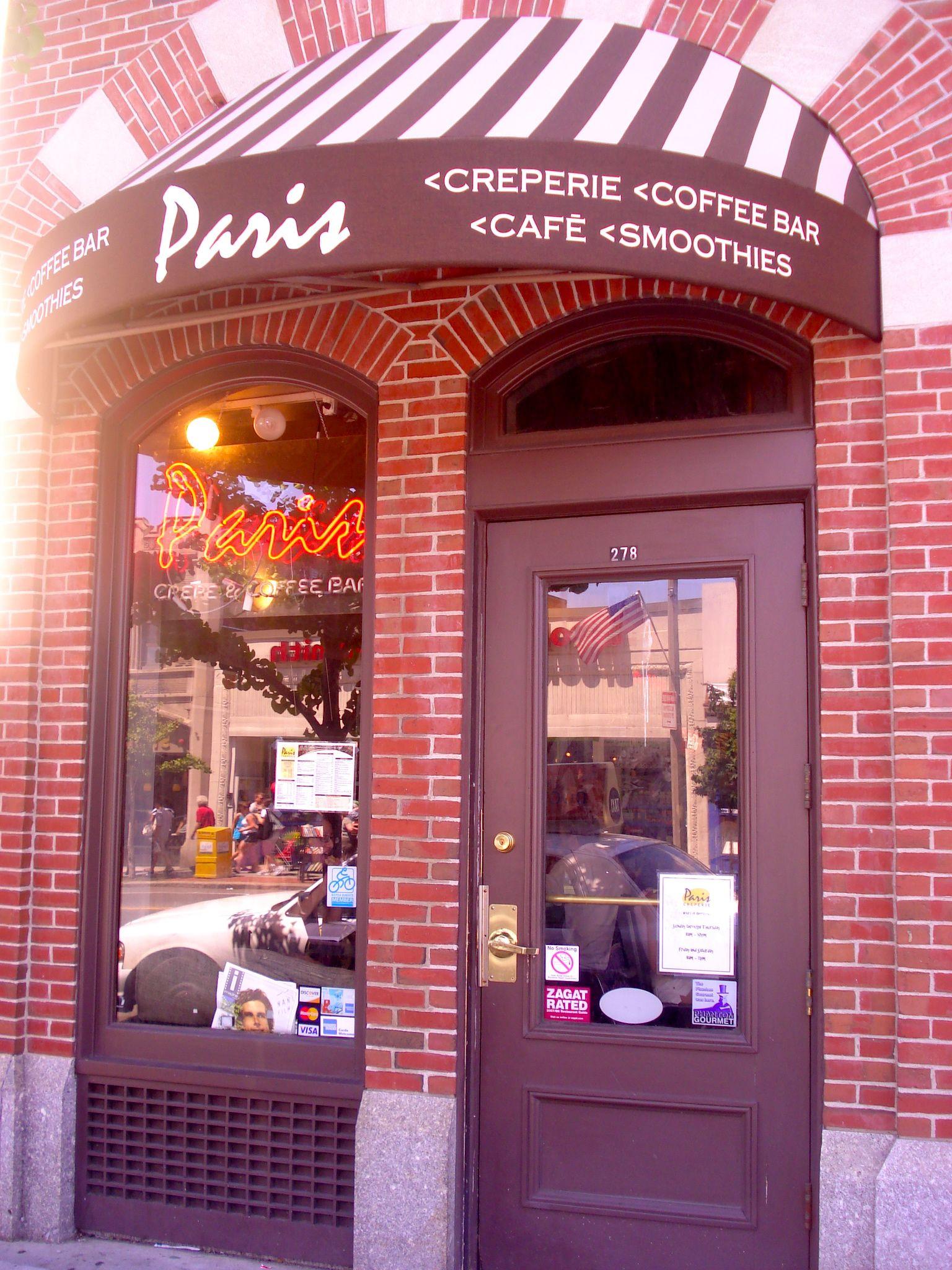 Crepe Shop in Boston