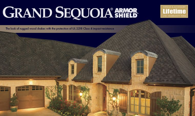 Best Gaf Grand Sequoia Armorshield Shingles Are A Designer 400 x 300