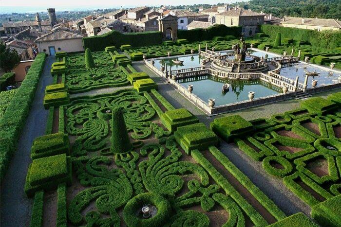 Jardins De La Villa Lante Italie Les Plus Beaux Jardins