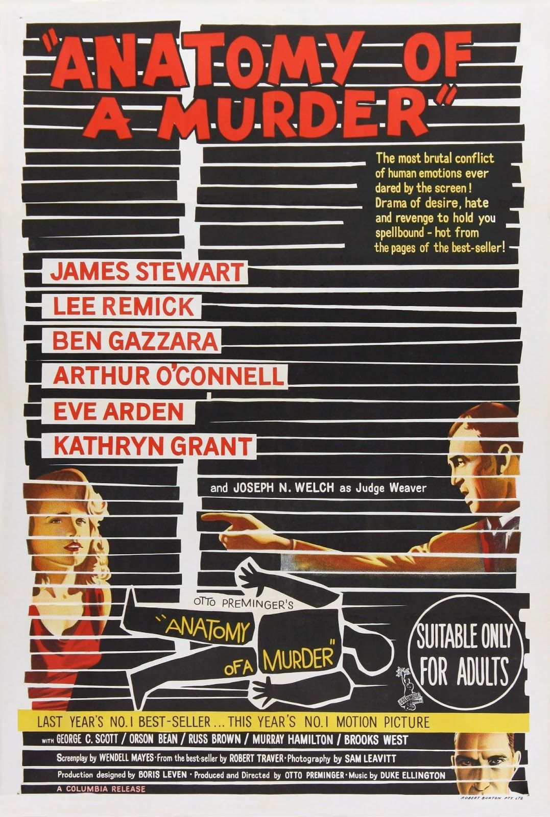 Anatomy Of A Murder 1959 Les Films De Ma Vie Graham Guit Movie