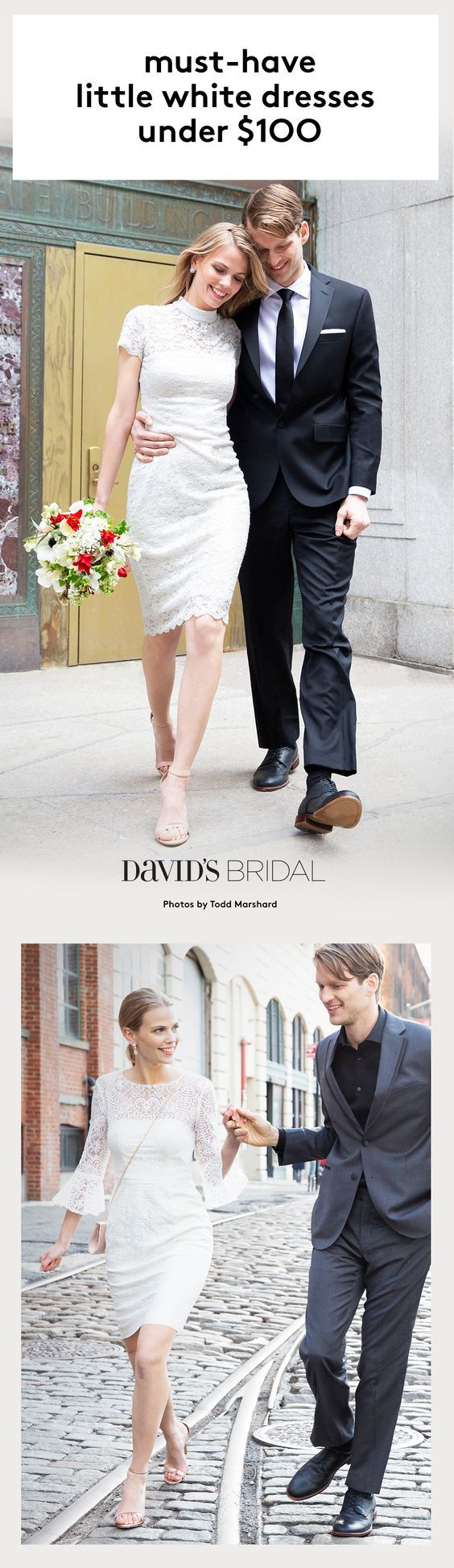 Dresses from for every wedding event only at davidus bridal