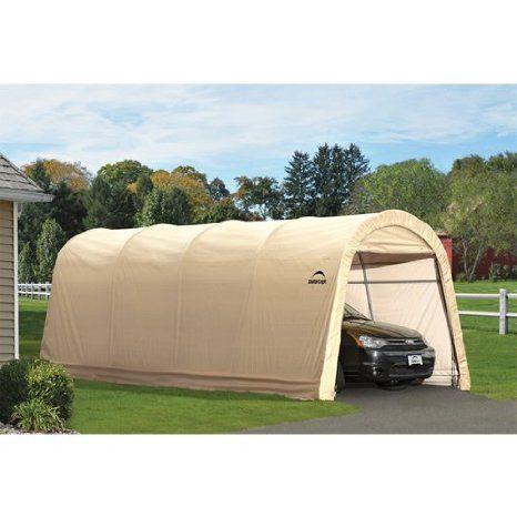 Best 349 99 Amazon Com Shelterlogic Round Style Auto Shelter 400 x 300