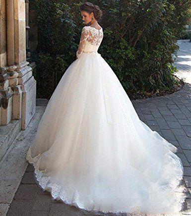 Cocogirls Land Jahrgang Spitze Hochzeitskleider Halbe Armel Prinzessin Kleider Fur Hochze Prinzessin Kleid Hochzeit Hochzeitskleid Romantische Hochzeitskleider