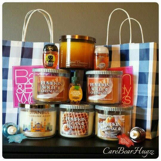 Bath and Body Works  candle Fall haul 2015