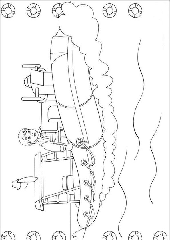 Feuerwehrmann Sam zum ausmalen 15 | Embroidery | Pinterest ...