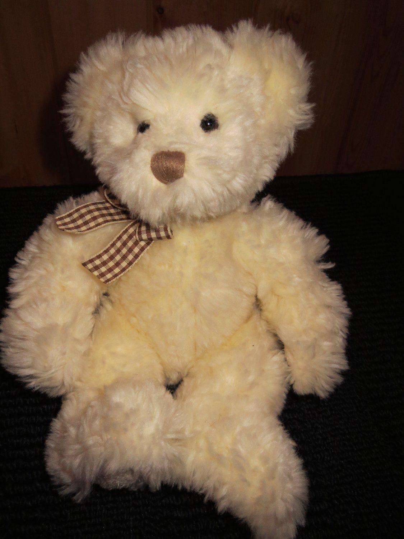 Russ Berrie Cream Colored Teddy Bear 24014 Named Buckingham Teddy Bear Teddy Teddy Bear Names [ 1500 x 1125 Pixel ]