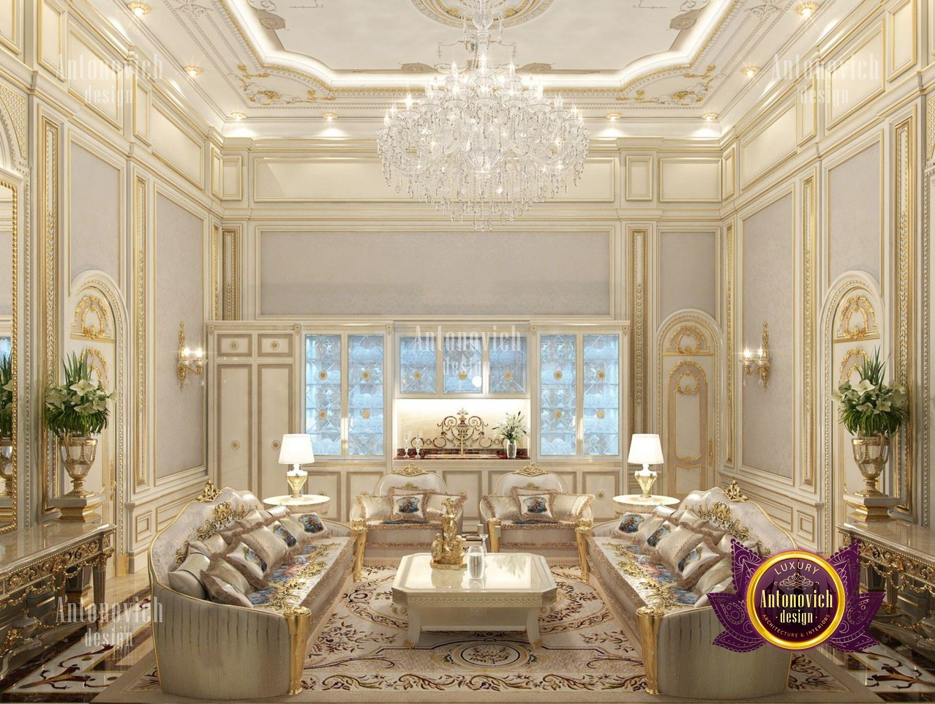 Living Room Design In Nigeria Luxury Mansions Interior Room