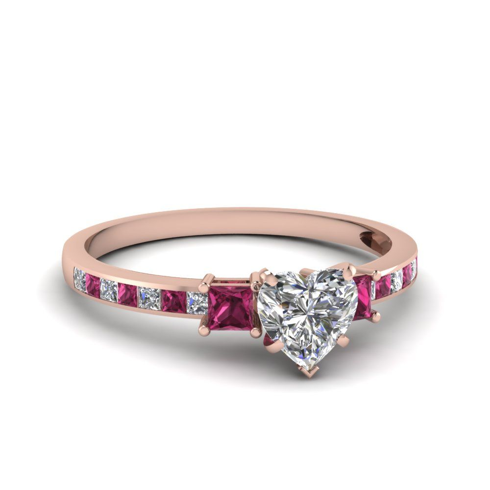 ruby diamond rings rose gold Google Search rings Pinterest