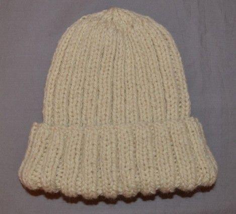 tricoter un bonnet en laine facile