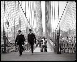 George C. Parker (1870–1936) was one of the most audacious con men in American history! He made his living selling New York's public landmarks to unwary tourists. His favorite object for sale was the Brooklyn Bridge, which he sold twice a week for years. - Gotta be one of my Confidence Artists