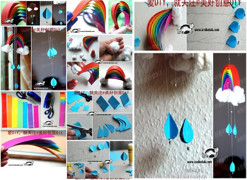 How to make beautiful rainbow mobile step by step diy tutorial how to make beautiful rainbow mobile step by step diy tutorial instructions how to solutioingenieria Gallery