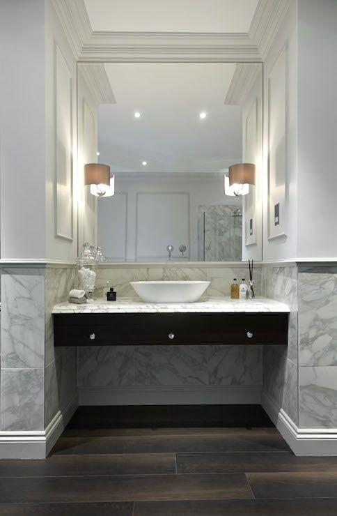 Vanity Nook Modern Bathroom Bathroom Design Washbasin Design Bathroom Inspiration Modern dining room washbasin cabinet