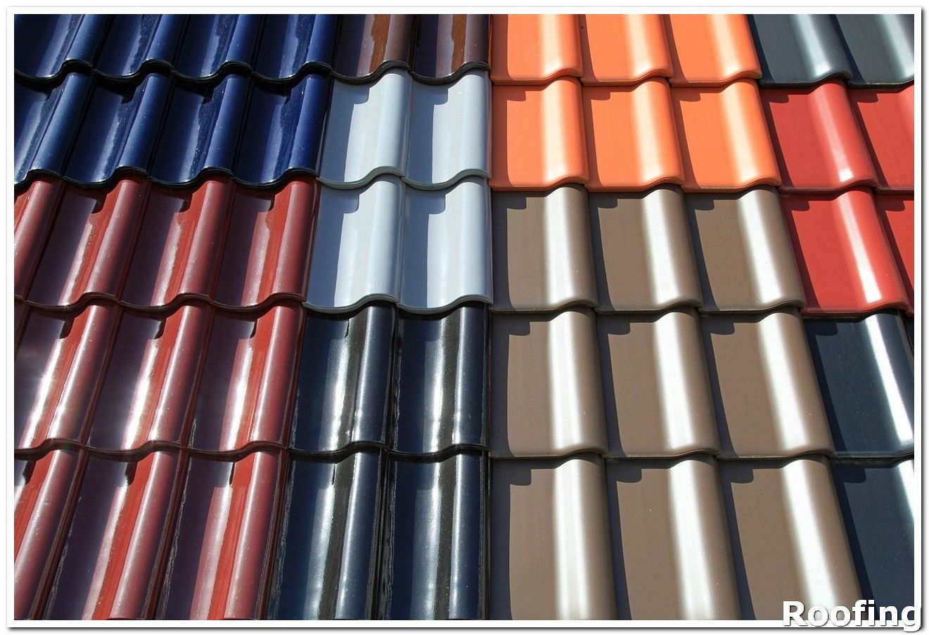 Roofing Materials If You Are Trying To Replace Or Repair A Roof On Your Own Always Take Precautions Make Sure To Wea Solar Paint Roof Tiles Roof Repair