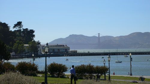 Aquatic Park - great place to practice those open water swims