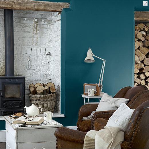 Marine Blue Little Greene Living Room In 2019 Navy