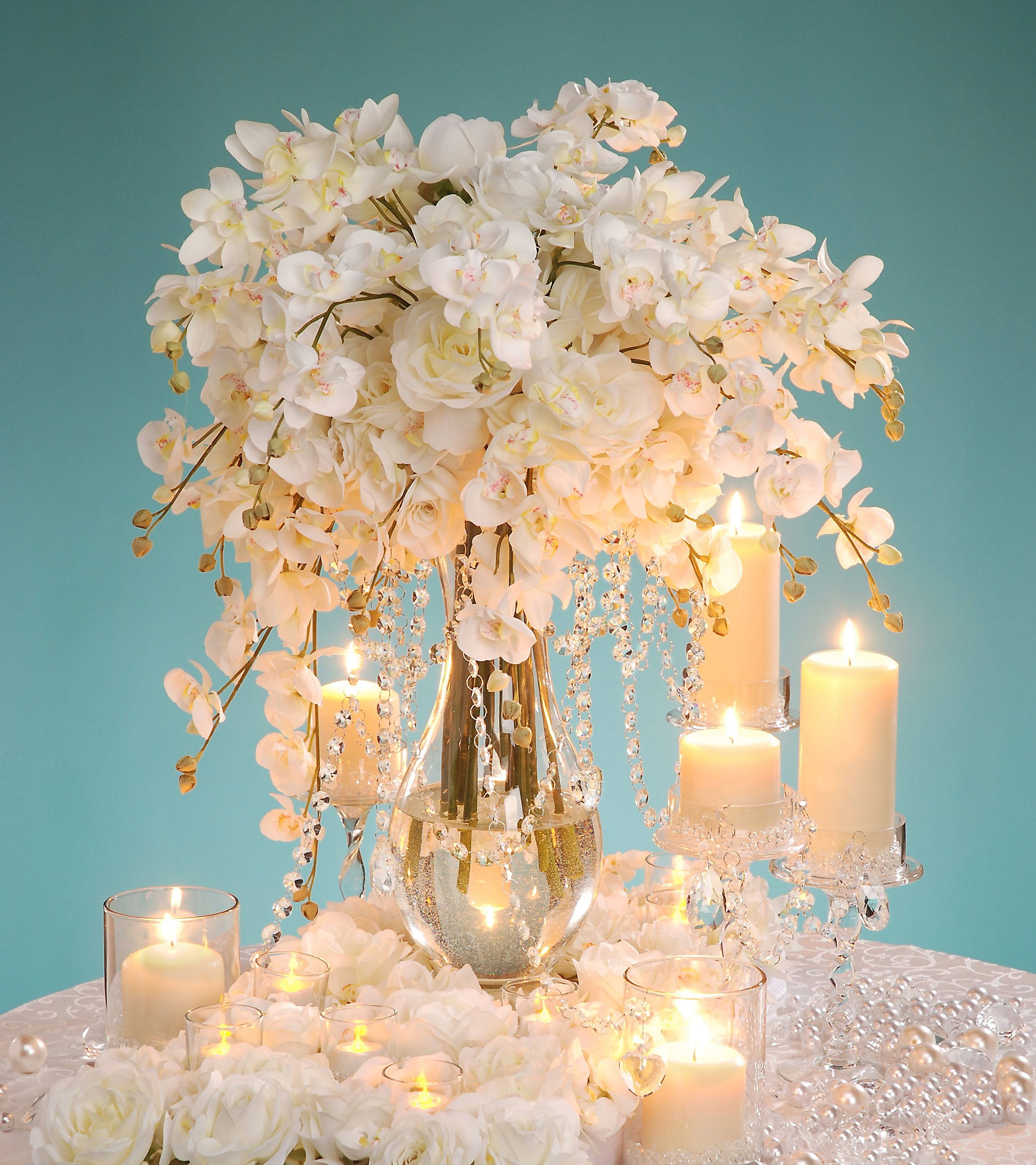Celebrity Wedding Flowers Centerpieces: Pin By Heather Watson On Party - Centerpiece Ideas