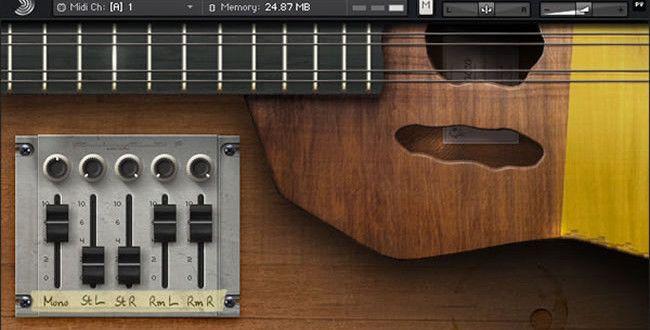 Free Ronroco Virtual Kontakt Instrument by Samplephonics