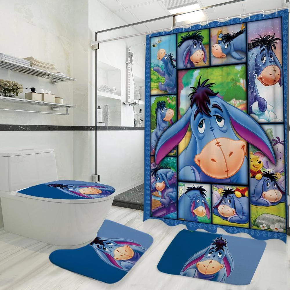 Eeyore 3d Bathroom Set With Images Eeyore Winnie The Pooh