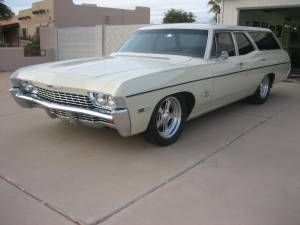 1968 Chev Impala Wagon 18500 40th St Bell Approximately 8000 Miles Since Restoration Of This California Classic Cars Trucks 1968 Chevy Impala Impala