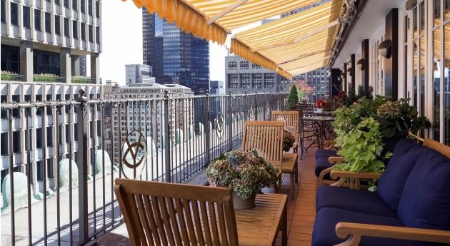 New York City Dining The Yale Club Restaurants Midtown Manhattan New York Yale Club Of New York Pergola Pergola Attached To House Terrace Restaurant