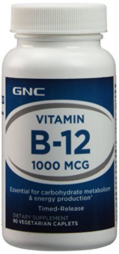 Gnc Vitamin B12 1000mcg 90tabs You Can Get More Details By