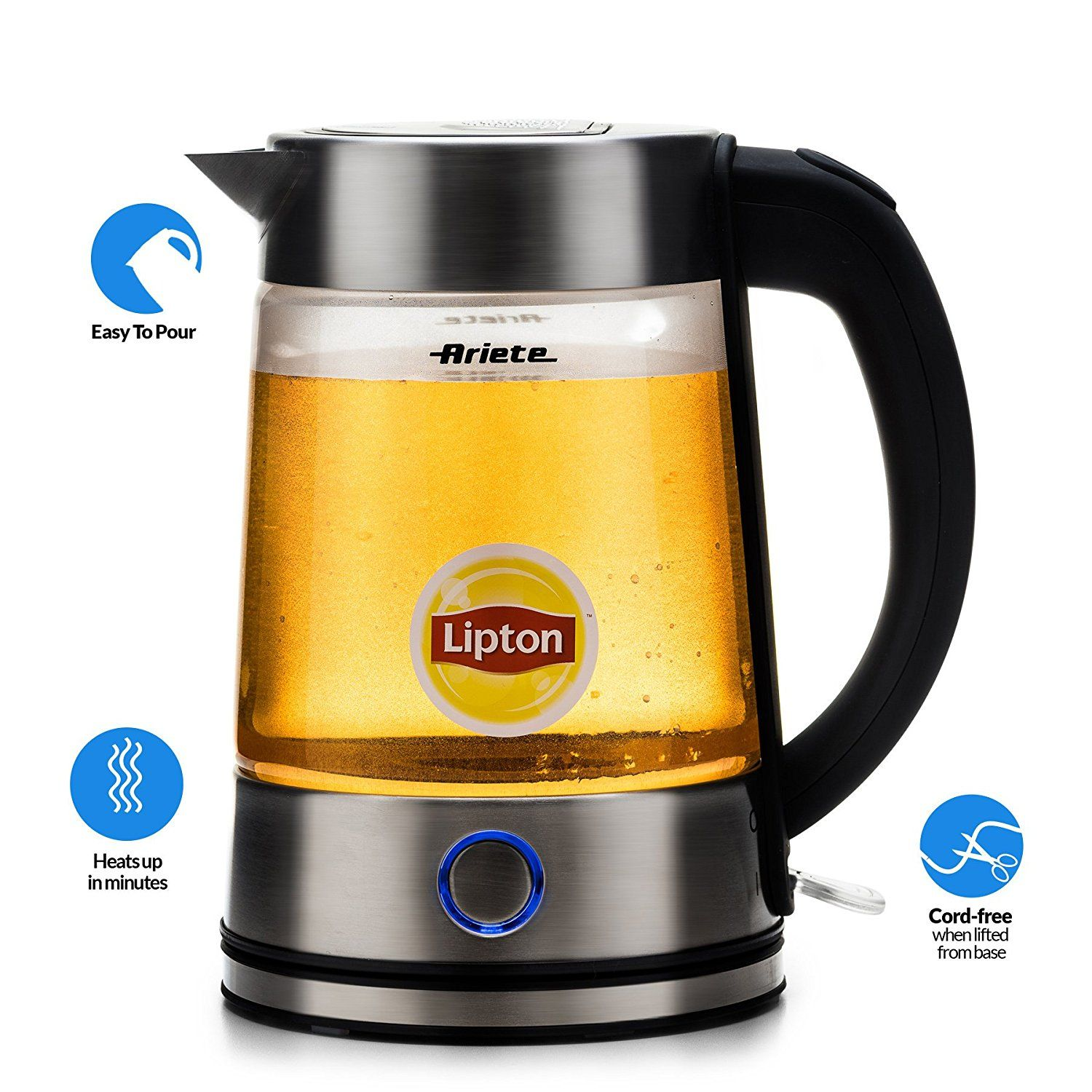 how to use electric tea kettle